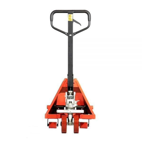 Front view of Narrow & Short Pallet Jack ML2036