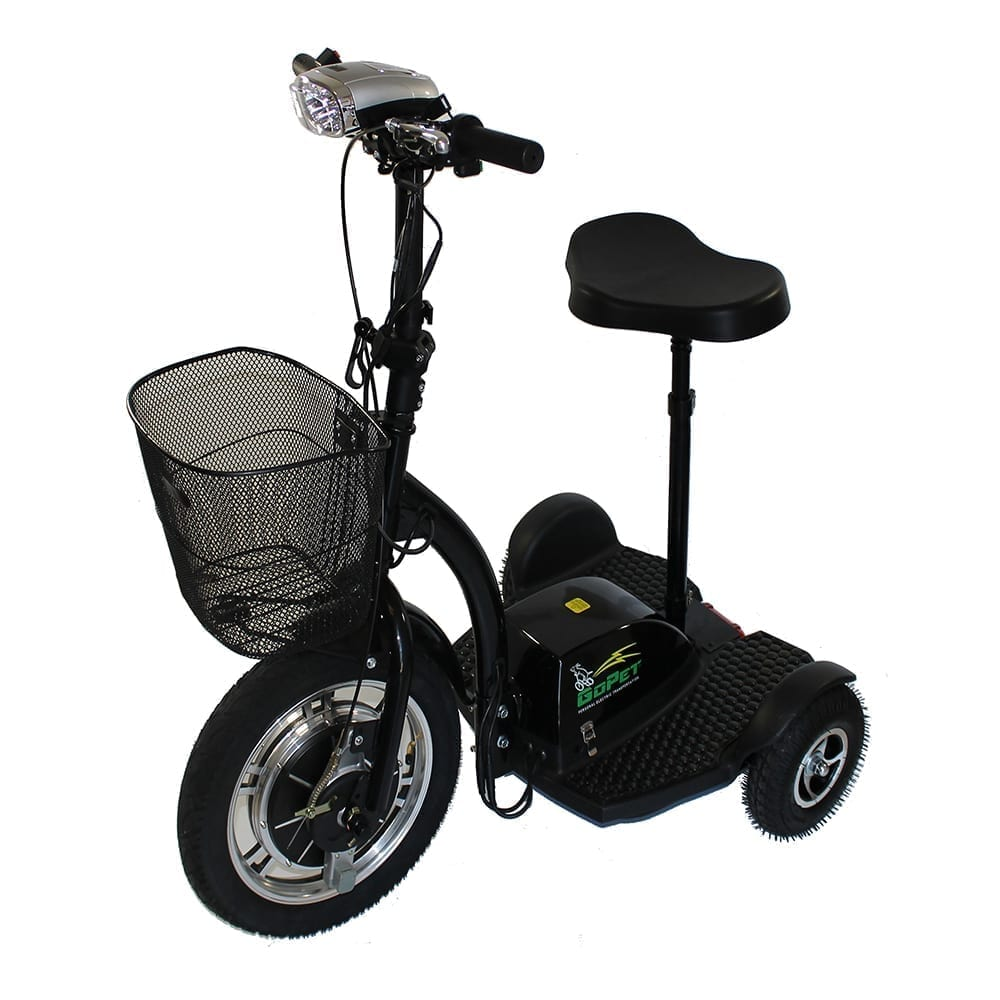 GoPet Electric Scooters<br /><span>black_scooter_black_2800</span>