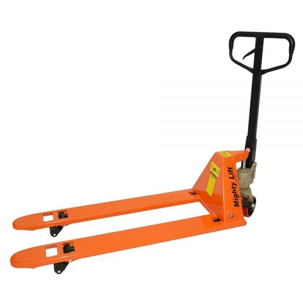 Mighty Lift Low Profile Pallet Jack