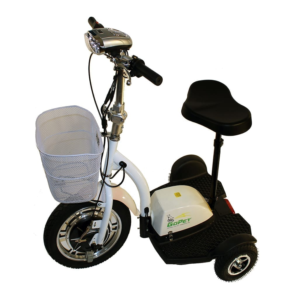 GoPet Electric Scooters<br /><span>white_scooter_white_2800</span>